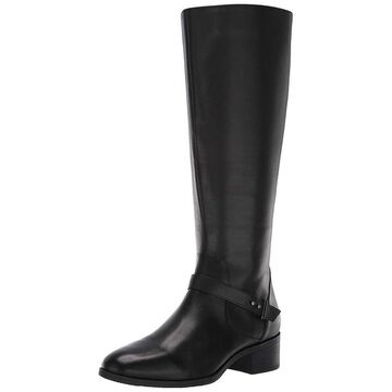 Bandolino Womens Bdbloema Leather Almond Toe Knee High Fashion Boots