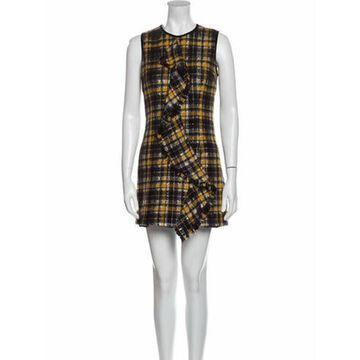 Msgm Wool Mini Dress Wool Msgm Wool Mini Dress