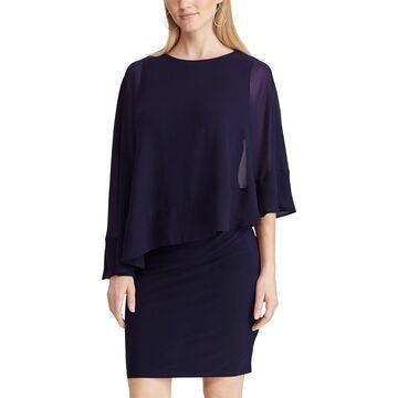 Women's Chaps Capelet Dress