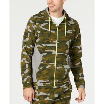 Men's Colorblocked Camo Jacket, Created for Macy's