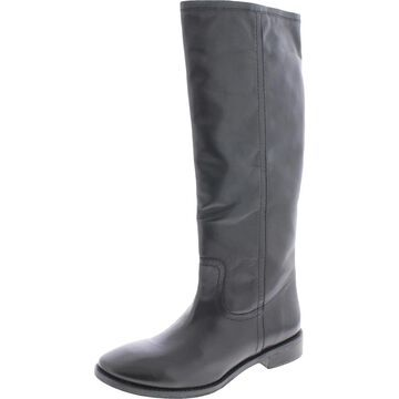 Seychelles Womens Drama Knee-High Boots Leather Tall - Black Leather