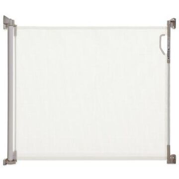 Dreambaby Indoor/Outdoor Retractable Gate in White