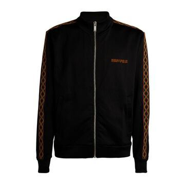 Marcelo Burlon County Of Milan Folk Tape Zip-Up Track Jacket