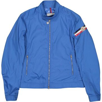 Moncler Blue Polyester Jackets