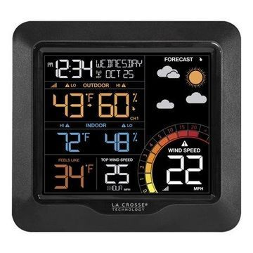 Lacrosse Color Wind Speed Weather Station