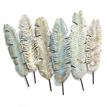 Stratton Home Decor Boho Feather Wall Decor