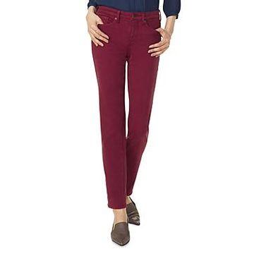 Nydj Sheri Slim Jeans in Grenache