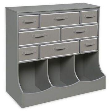 Badger Basket's Storage Station in Grey