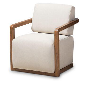 Baxton Studio Sawyer Upholstered Armchair