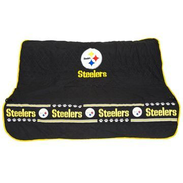 Pets First Pittsburgh Steelers Car Seat Cover