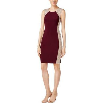 Xscape Womens Sheath Special Occasion Cocktail Dress