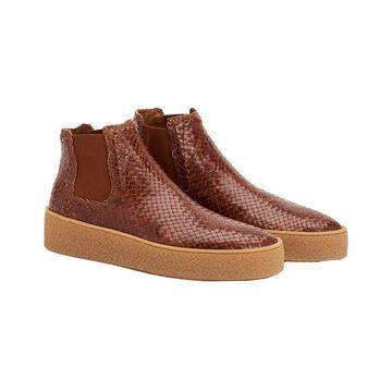 Aquatalia Geovana Waterproof Leather Sneaker