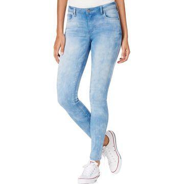 Celebrity Pink Womens Dawson Denim Light Wash Skinny Jeans