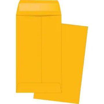 Business Source Little Coin No. 5-1/2 Kraft Envelopes - Brown Kraft (Brown Kraft)