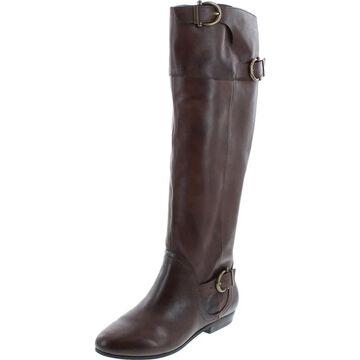 Naughty Monkey Womens Slick Nights Equestrian Boot - Chocolate