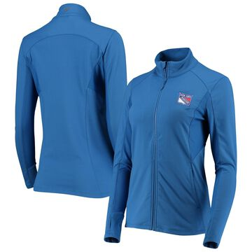 Women's Levelwear Blue New York Rangers Alyssa Full-Zip Jacket
