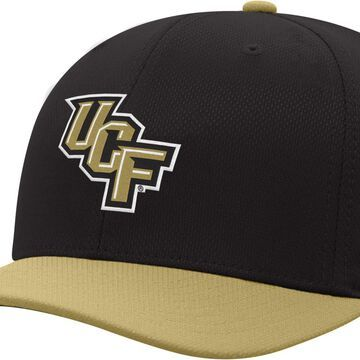 Top of the World Men's UCF Knights Reflex Two-Tone Black Fitted Hat