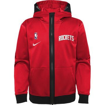 Nike Youth Houston Rockets red Spotlight Full-Zip Hoodie