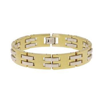 LYNX Stainless Steel Two Tone Bracelet - Men