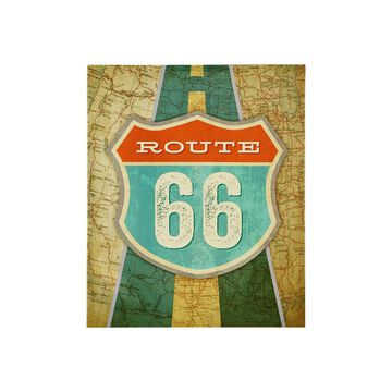 Mi Zone Mi Zone Route 66 Gel Coat Canvas