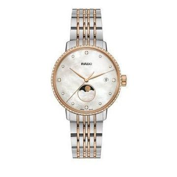 Rado Centrix Titanium and Stainless Steel Diamond Bracelet Watch