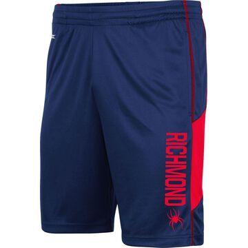 Colosseum Men's Richmond Spiders Blue Grizzly Shorts