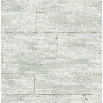 Kenneth James Shipwreck Light Grey Wood Wallpaper