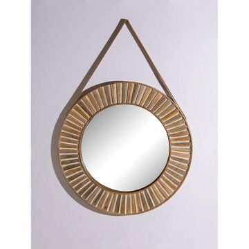 Aurora Home Gold Moroccan Arch Mirror - Antique Brown - 24