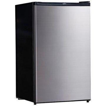 Koolatron 4.6 Cu Ft Single Door Compact Refrigerator BC130SS Stainless