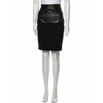 Virgin Wool Knee-Length Skirt Wool