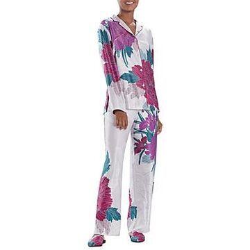 Natori Floral Print Pajama Set