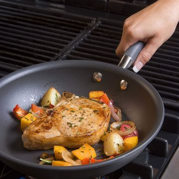 Anolon Advanced Twin Pack: 10-inch and 12-inch French Skillets