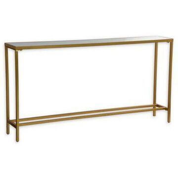 Ren-Wil Havana Console Table in Gold Leaf