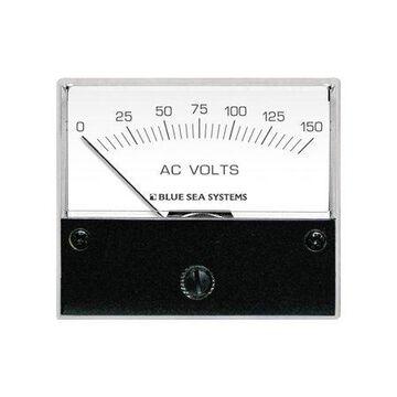 Blue Sea Systems 9353 AC Voltmeter, 0 to 150V AC