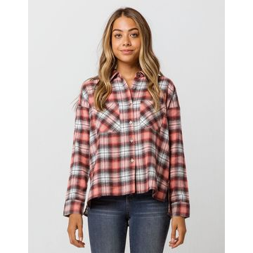 One Step Womens Flannel Shirt