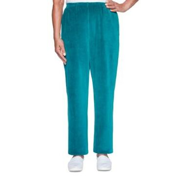 Alfred Dunner Bright Idea Proportioned Velour Pants