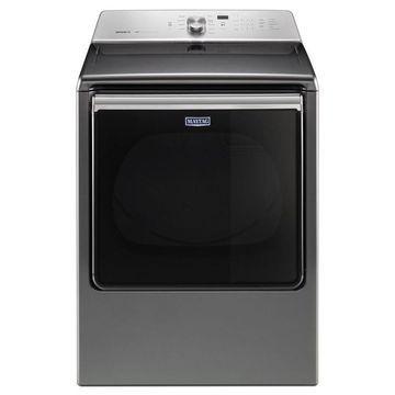 Maytag 8.8-cu ft Electric Dryer (Metallic Slate) ENERGY STAR