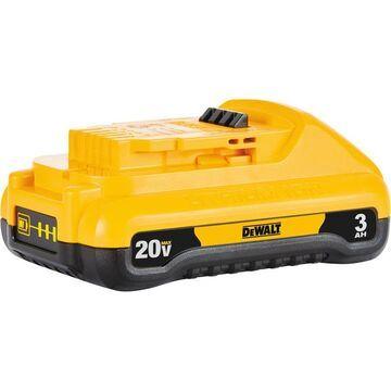 DEWALT 20 Volt MAX Lithium-Ion 3.0Ah Compact Battery, Model DCB230