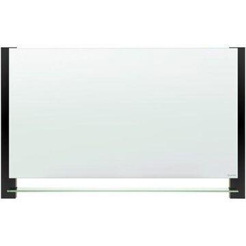 Quartet, QRTG3922BA, Evoque Magnetic Glass Dry-Erase Boards with Invisible Mount, 1 Each