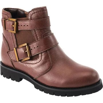 David Tate Women's Jaden Ankle Boot Brown Leather