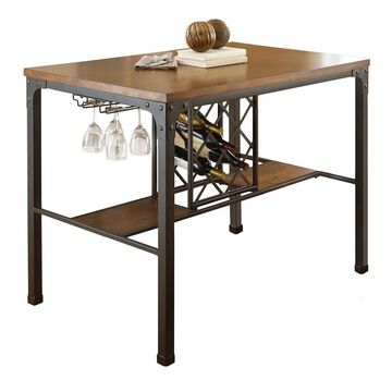 Greyson Living Whitley Counter Height Table - Brown (Whitley Counter Table)