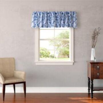 Laura Ashley Charlotte Blue Window Valance Bedding