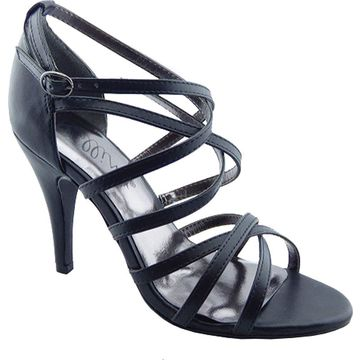 Bellini Womens Majesty Leather Open Toe Casual Strappy Sandals