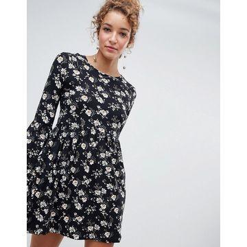 QED London floral smock dress
