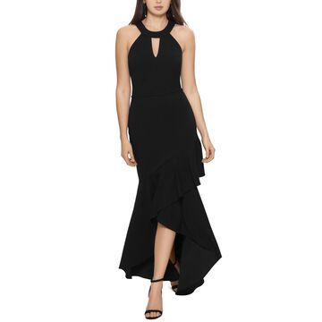 Betsy & Adam Halter Keyhole Gown