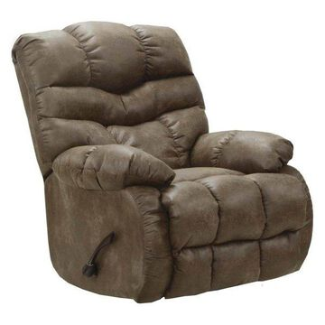 Chaise Rocker Recliner in Silt