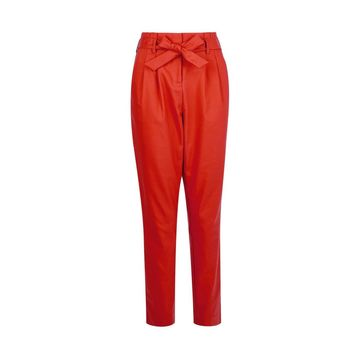 **Vila Red Tailored Trousers