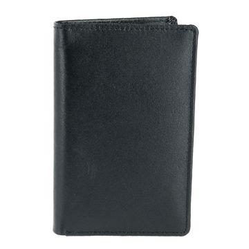 CTM Leather Bifold Badge Holder Wallet