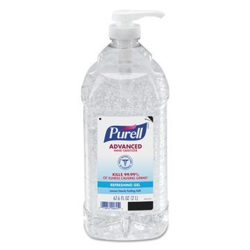 PURELL 1-Count Fragrance-free Hand Sanitizer Gel