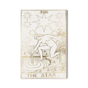 Oliver Gal The Star Tarot Luxe Canvas Art - 15